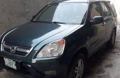 Honda CRV 2003 Green for sale