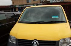 Clean Volkswagen Microbus 2008 Yellow for sale