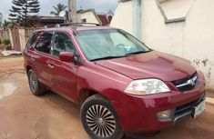 Clean Acura MDX 2004 Red for sale