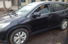 Clean Nigeria Used Honda CR-V 2014 Black for sale