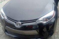Toyota Corolla 2016 Black for sale