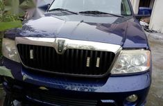Lincoln Navigator 2006 Blue for sale