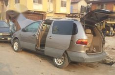 Clean Toyota Sienna 1998 Brown for sale