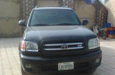 Fairly Used US Toyota Sequoia 2004 Black for sale