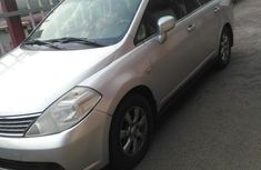 Nissan Tiida 2007 Silver For Sale