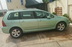 Peugeot 307 2005 Green for sale