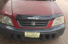 Very Neat Honda Crv 1999 Red for sale