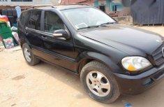 Super Clean Registered Mercedes-Benz ML 320 2003 Black for sale