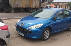 Tokunko Peugeot 307 2005 Blue for sale