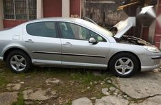 Neatly Used Peugeot 407 2004 Silver for sale