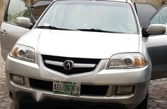 Clean Acura MDX 2005 Silver for sale