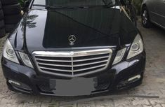 Mercedes-Benz E350 2010 Black