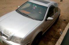 Registered Volkswagen Bora 2001 Silver for sale