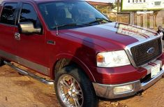 Ford F150 2007 Red for sale