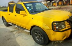 Nissan Frontier 2002 Yellow for sale