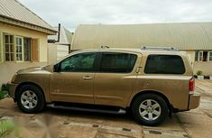 Nissan Armada 2005 SE Gold for sale