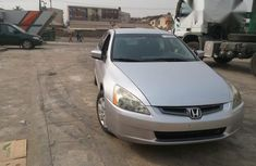 Tokunbo Honda Accord LX 2003 Silver for sale