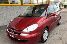Peugeot 807 2007 Red For Sale