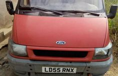 Ford Transit Van 2.0 Engine 2005 Red Foreign Used