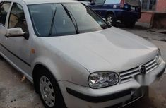 Uk Tokunbo Volkswagen Golf4 2001 White for sale