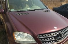 Mercedes-benz ML350 2010 Red for sale