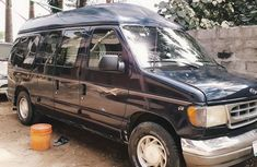 Clean Ford E-250 2005 Blue for sale