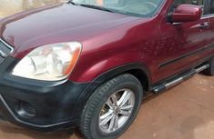 Honda CR-V 2005 Red for sale