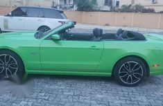 Ford Mustang 2014 Green for sale