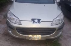 Peugeot 407 2007 Green for sale