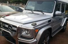 Clean Mercedes-Benz G63 AMG 2013 Gray For Sale