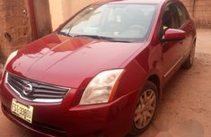 Nissan Sentra 2009 Red for sale