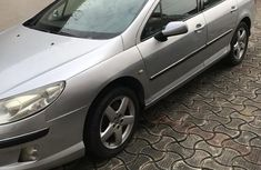Peugeot 407 3.0 V6 Platinum 2004 Silver For sales