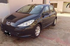 Peugeot 307 2002 Black for sale