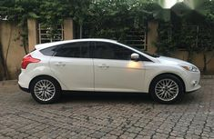 Ford Focus Hatchback 2012 White for sale