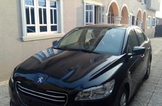 Peugeot 301 2014 Black for sale