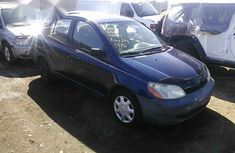 Foreign Used Toyota Echo 2003 Blue