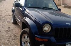 Jeep Liberty 2002 Blue for sale
