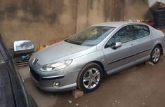 Clean Peugeot 407 2005 Silver for sale