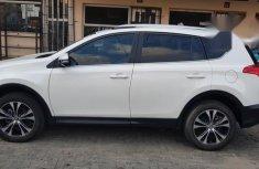 Clean Full Options Toyota Rav4 2015 White for sale