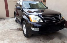 Lexus GX 470 Sport Utility 2006 Black for sale