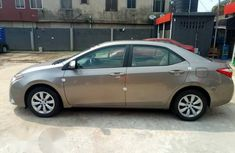 Toyota Corolla 2017 Gray for sale