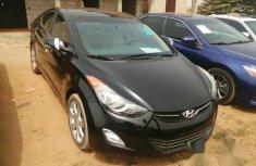 Tokunbo Hyundai Elantra 2013 Black