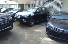 New Toyota Fortuner 2018 Black for sale