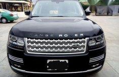 Clean Range Rover Vogue 2015 Black for sale