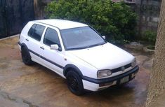 Volkswagen Golf 2001 White for sale