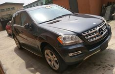 Mercedes Benz ML 350 2011 Gray for sale