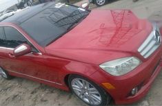 Mercedes-Benz C300 2008 Red for sale