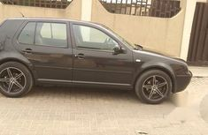 Volkswagen Golf 2001 2.0 Cabriolet Automatic Black for sale