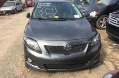 Toyota Corolla Sport 2010 Gray for sale