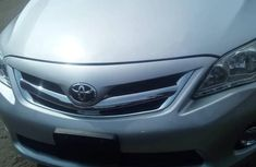 Tokunbo Toyota Corolla 2012 Silver for sale